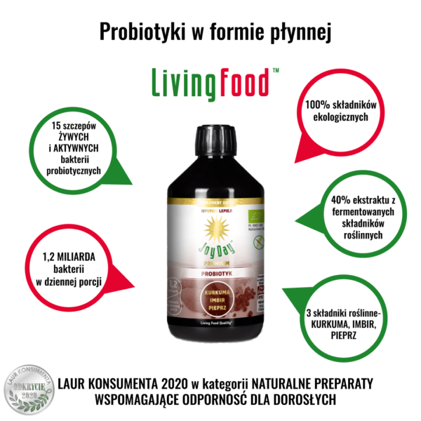 probiotyk kurkuma