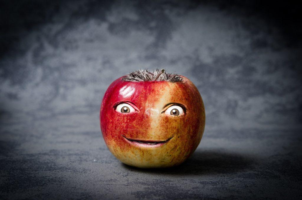 Błędy dietetyczne. Zepsute jabłko