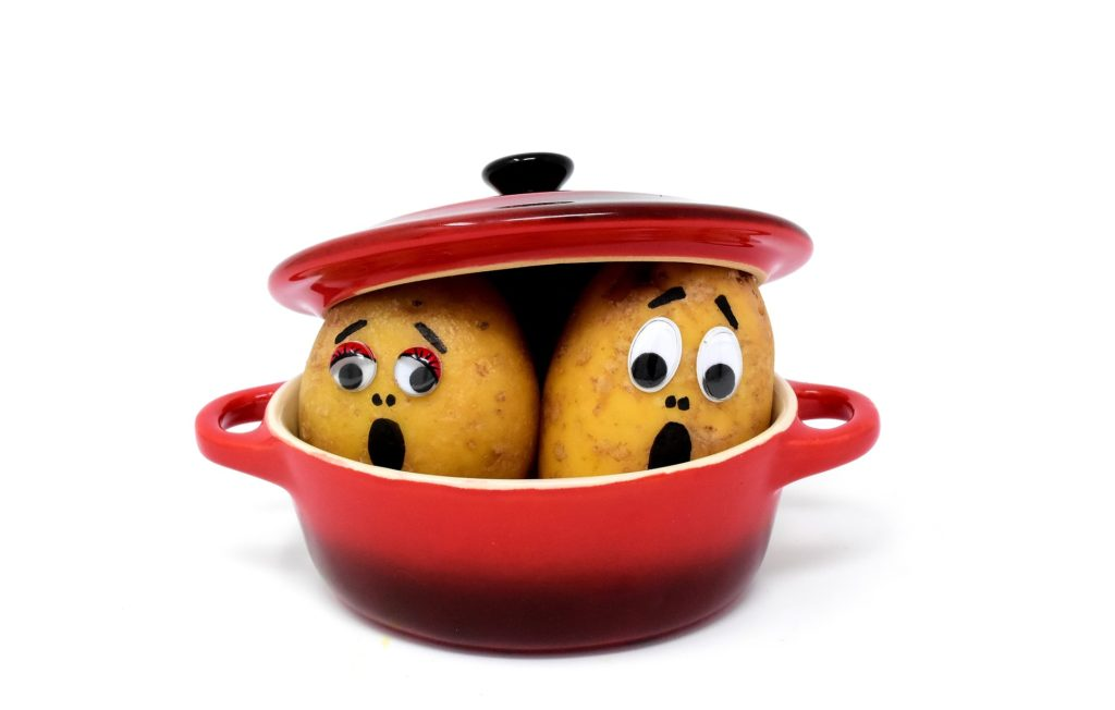 Ziemniaki w skórkach - błąd dietetyczny